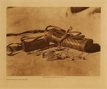 Title: Hupa Purses and Money , Date: 1923 , Size: Volume, 9.5 x 12.5 inches , Medium: Vintage Photogravure , Edition: Vintage