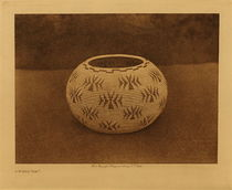 Title: A Washo Gem , Date: 1924 , Size: Volume, 9.5 x 12.5 inches , Medium: Vintage Photogravure , Edition: Vintage