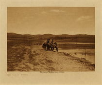 Title: Lake Lajara - Navaho , Date: 1904 , Size: Volume, 9.5 x 12.5 inches , Medium: Vintage Photogravure , Edition: Vintage