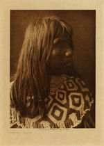 Title: Chacha - Mohave , Date: 1907 , Size: Volume, 12.5 x 9.5 inches , Medium: Vintage Photogravure , Edition: Vintage