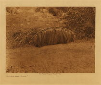 Title: The Pigeon - Blind - Yokuts , Date: 1924 , Size: Volume, 9.5 x 12.5 inches , Medium: Vintage Photogravure , Edition: Vintage