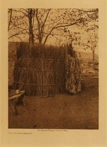 Title: Mono Summer Shelter , Date: 1924 , Size: Volume, 12.5 x 9.5 inches , Medium: Vintage Photogravure , Edition: Vintage