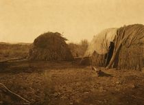 Title: Apache - Mohave Homes , Date: 1907 , Size: Volume, 9.5 x 12.5 inches , Medium: Vintage Photogravure , Edition: Vintage