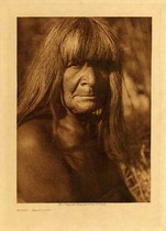 Title: Hipah - Maricopa , Date: 1907 , Size: Volume, 12.5 x 9.5 inches , Medium: Vintage Photogravure , Edition: Vintage