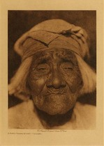 Title: A Santa Ysabel Woman - Diegueno , Date: 1924 , Size: Volume, 12.5 x 9.5 inches , Medium: Vintage Photogravure , Edition: Vintage
