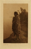 Title: Mohave - Man , Date: 1907 , Size: Volume, 12.5 x 9.5 inches , Medium: Vintage Photogravure , Edition: Vintage