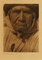 Title: A Southern Diegueno Woman , Date: 1924 , Size: Volume, 12.5 x 9.5 inches , Medium: Vintage Photogravure , Edition: Vintage