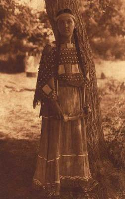 Title: Sioux Maiden , Date: 1908 , Size: Volume, 12.5 x 9.5 inches , Medium: Vintage Photogravure , Edition: Vintage
