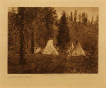 Title: In the Mountains - Spokan , Date: 1910 , Size: Volume, 9.5 x 12.5 inches , Medium: Vintage Photogravure , Edition: Vintage