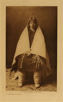 Title: Hopi Bridal Costume , Date: 1900 , Size: Volume, 12.5 x 9.5 inches , Medium: Vintage Photogravure , Edition: Vintage