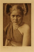 Title: Tsetsanu (Tewa) , Date: 1921 , Size: Volume, 12.5 x 9.5 inches , Medium: Vintage Photogravure , Edition: Vintage