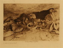 Title: A Cave at Middle Mesa , Size: Volume, 9.5 x 12.5 inches , Medium: Vintage Photogravure , Edition: Vintage