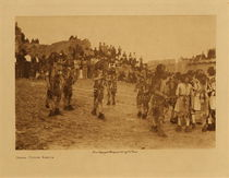 Title: Oraibi Snake Dance , Date: 1921 , Size: Volume, 9.5 x 12.5 inches , Medium: Vintage Photogravure , Signed: Unsigned , Edition: Vintage