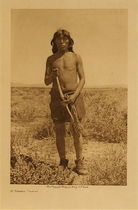 Title: A Snake Priest , Date: 1907 , Size: Volume, 12.5 x 9.5 inches , Medium: Vintage Photogravure , Edition: Vintage