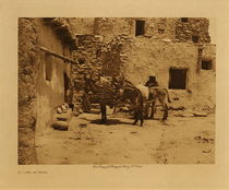Title: A Load of Wood , Date: 1921 , Size: Volume, 9.5 x 12.5 inches , Medium: Vintage Photogravure , Signed: Unsigned