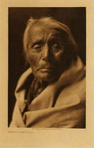 Title: Skuthun - Klickitat , Date: 1910 , Size: Volume, 12.5 x 9.5 inches , Medium: Vintage Photogravure , Signed: Unsigned , Edition: Vintage