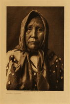 Title: Spokan Matron , Date: 1910 , Size: Volume, 12.5 x 9.5 inches , Medium: Vintage Photogravure , Signed: Unsigned , Edition: Vintage