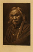 Title: Not Grizzly-Bear - Kutenai , Date: 1910 , Size: Volume, 12.5 x 9.5 inches , Medium: Vintage Photogravure , Signed: Unsigned , Edition: Vintage