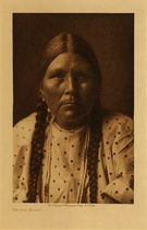 Title: Spokan Woman , Date: 1910 , Size: Volume, 12.5 x 9.5 inches , Medium: Vintage Photogravure , Signed: Unsigned , Edition: Vintage