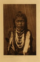 Title: Kalispel Youth , Date: 1910 , Size: Volume, 12.5 x 9.5 inches , Medium: Vintage Photogravure , Edition: Vintage