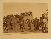 Title: Oraibi Snake Dance , Date: 1921 , Size: Volume, 9.5 x 12.5 inches , Medium: Vintage Photogravure , Edition: Vintage
