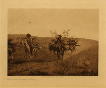 Title: Return with Boughs - Cheyenne , Date: 1911 , Size: Volume, 9.5 x 12.5 inches , Medium: Vintage Photogravure , Edition: Vintage