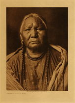 Title: Cheyenne Female Type , Date: 1911 , Size: Volume, 12.5 x 9.5 inches , Medium: Vintage Photogravure , Edition: Vintage