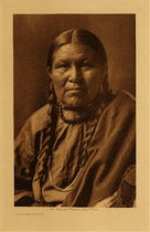 Title: Cheyenne Woman , Date: 1910 , Size: Volume, 12.5 x 9.5 inches , Medium: Vintage Photogravure , Edition: Vintage