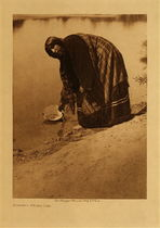 Title: Arapaho Water Girl , Date: 1910 , Size: Volume, 12.5 x 9.5 inches , Medium: Vintage Photogravure , Edition: Vintage