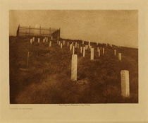 Title: Custer Monument , Date: 1908 , Size: Volume, 9.5 x 11 inches , Medium: Vintage Photogravure , Edition: Vintage