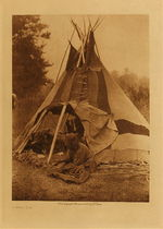 Title: A Sarsi Tipi , Date: 1926 , Size: Volume, 12.5 x 9.5 inches , Medium: Vintage Photogravure , Edition: Vintage
