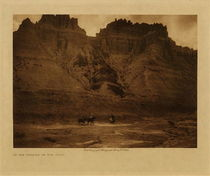 Title: In the Shadow of the Cliff , Date: 1908 , Size: Volume, 9.5 x 12.5 inches , Medium: Vintage Photogravure , Edition: Vintage