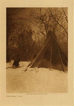 Title: When Winter Comes , Date: 1908 , Size: Volume, 12.5 x 9.5 inches , Medium: Vintage Photogravure , Edition: Vintage