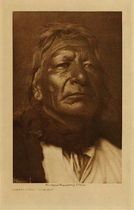 Title: Stands First - Ogalala , Date: 1907 , Size: Volume, 12.5 x 9.5 inches , Medium: Vintage Photogravure , Edition: Vintage
