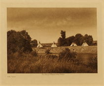 Title: The Camp , Date: 1908 , Size: Volume, 9.5 x 12.5 inches , Medium: Vintage Photogravure , Edition: Vintage
