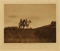 Title: Big Road's Twin Daughters - Ogalala , Date: 1907 , Size: Volume, 9.5 x 12.5 inches , Medium: Vintage Photogravure , Edition: Vintage