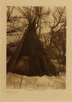 Title: In the Mountains , Date: 1908 , Size: Volume, 12.5 x 9.5 inches , Medium: Vintage Photogravure , Edition: Vintage