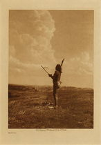 Title: Fasting , Date: 1907 , Size: Volume, 12.5 x 9.5 inches , Medium: Vintage Photogravure , Edition: Vintage