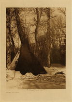 Title: After the Snow , Date: 1908 , Size: Volume, 12.5 x 9.5 inches , Medium: Vintage Photogravure , Edition: Vintage