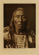Title: His Fights - Ogalala , Date: 1908 , Size: Volume, 12.5 x 9.5 inches , Medium: Vintage Photogravure , Edition: Vintage
