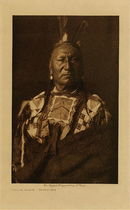 Title: Yellow Horse - Yanktonai , Date: 1908 , Size: Volume, 12.5 x 9.5 inches , Medium: Vintage Photogravure , Edition: Vintage