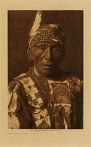 Title: Good Voice Hawk - Yanktonai , Date: 1908 , Size: Volume, 12.5 x 9.5 inches , Medium: Vintage Photogravure , Edition: Vintage