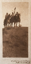 Title: In the Land of the Apsaroke , Date: 1908 , Size: Volume, 12.5 x 9.5 inches , Medium: Vintage Photogravure , Signed: Signed , Edition: Vintage