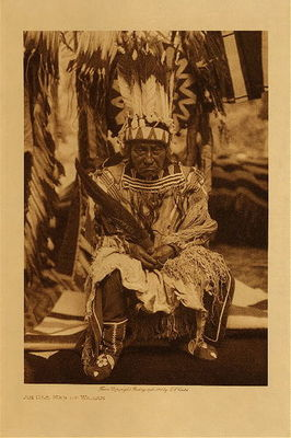 Title: An Old Man of Waiyam , Date: 1910 , Size: Volume, 12.5 x 9.5 inches , Medium: Vintage Photogravure , Edition: Vintage