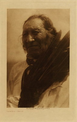 Title: Crow Dog - Brule , Date: 1910 , Size: Volume, 12.5 x 9.5 inches , Medium: Vintage Photogravure , Edition: Vintage