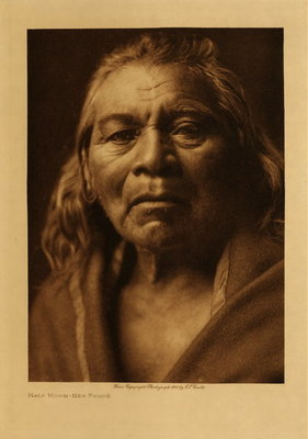 Title: Two Moons - Nez Perce , Date: 1910 , Size: Volume, 12.5 x 9.5 inches , Medium: Vintage Photogravure , Edition: Vintage