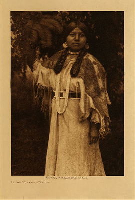 Title: In the Forest - Cayuse , Date: 1910 , Size: Volume, 12.5 x 9.5 inches , Medium: Vintage Photogravure , Edition: Vintage