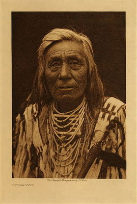 Title: Cayuse Type , Date: 1910 , Size: Volume, 12.5 x 9.5 inches , Medium: Vintage Photogravure , Edition: Vintage