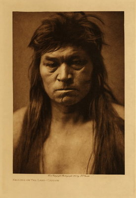 Title: Falling On The Land - Cayuse , Date: 1910 , Size: Volume, 12.5 x 9.5 inches , Medium: Vintage Photogravure , Edition: Vintage