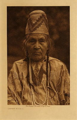 Title: Cayuse Matron , Date: 1910 , Size: Volume, 12.5 x 9.5 inches , Medium: Vintage Photogravure , Edition: Vintage